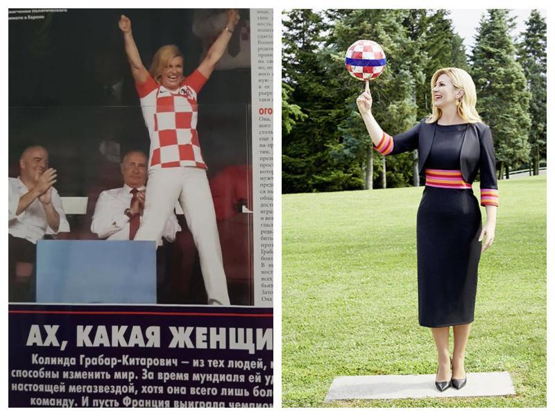 Nov spodrsljaj hrvaške predsednice – Kolinda: »Sem dekle, rojeno na napačni strani Železne zavese«