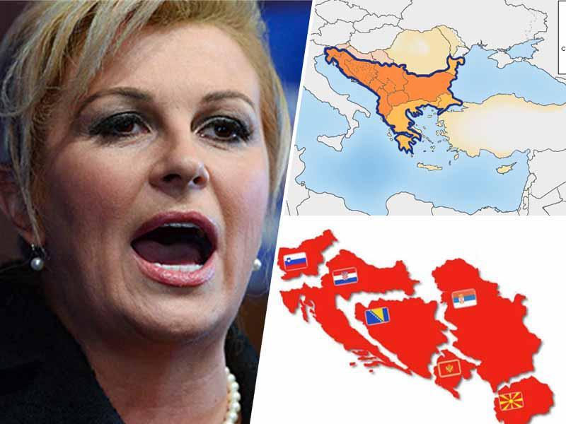 Kako Hrvaška ogromno služi z izvozom v države regije, ki jih predsednica Hrvaške ves čas daje v nič in žali