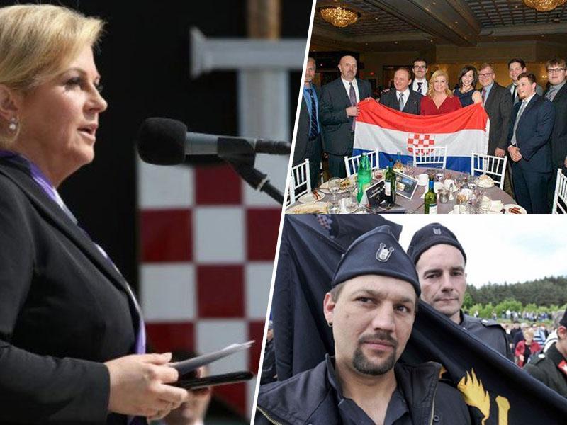 Od »Evrope belcem« do malikovanja Pavelića: ustaštvo je na Hrvaškem podivjalo, zaman tudi sodne prepovedi