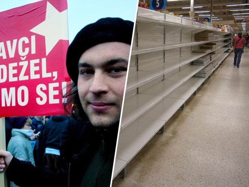 Slovensko brezvladje: levičarsko igračkanje z nacionalizacijo in podjetniško zavajanje o davkih