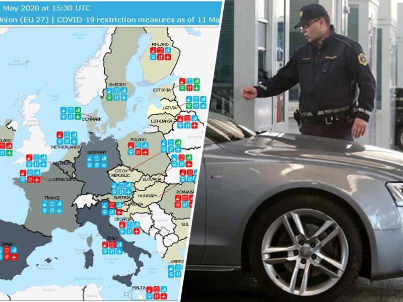 Naduto: Za bolj okužene iz EU meje Slovenije odprte, za manj okužene iz JV Evrope pa obvezna 14-dnevna karantena