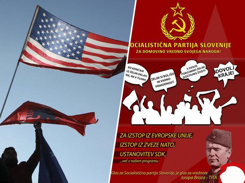 Socialistična partija Slovenije pozvala k umiku slovenskega priznanja neodvisnosti Kosova