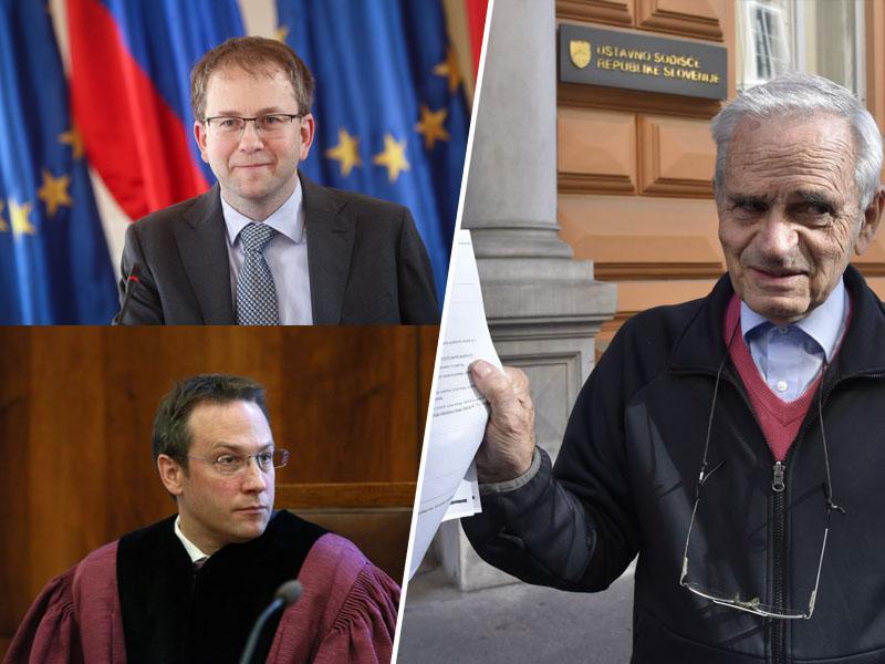 Vili Kovačič ustavnega sodnika Mateja Accetta ovadil zaradi krivičnega sojenja