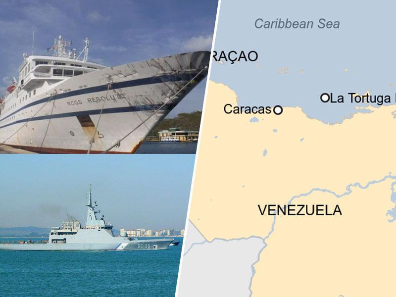 Draga šola: Vojaška ladja je streljala na civilno, se zaletela vanjo in - potopila