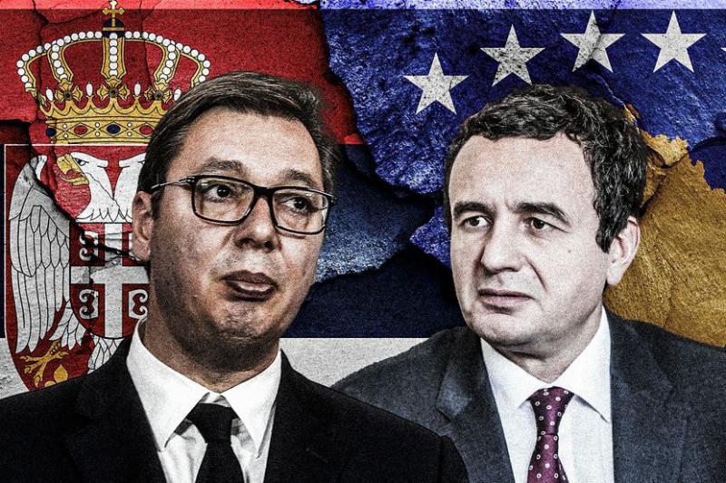 Začasnost brez roka, toda kdo je zmagal? Kako so pet let stare »nalepke« rešile spor med Srbijo in Kosovom
