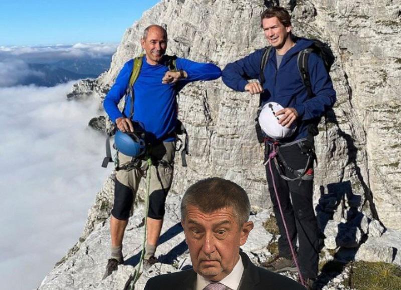 Kompromitirani padajo kot domine: Kurz odstopil, Babiš izgubil volitve, se čas izteka tudi Janši?