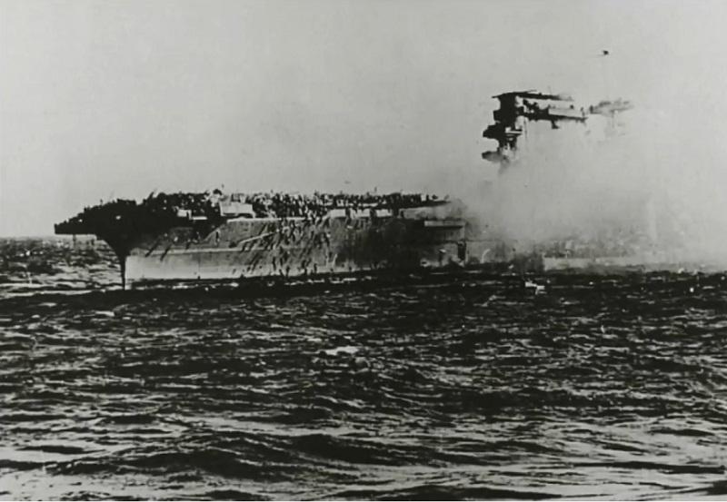 V Koralnem morju našli razbitine ameriške letalonosilke iz druge svetovne vojne