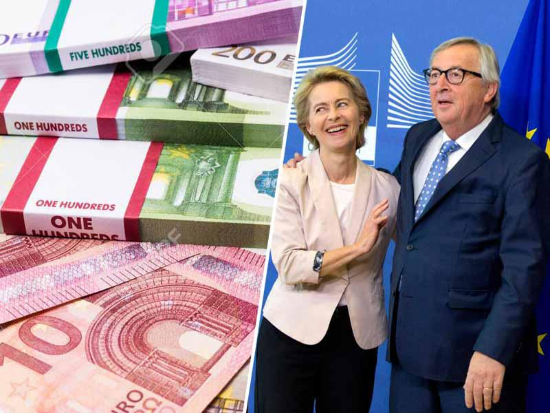 Evropohlep: Ursula von der Leyen dobila povišico že na svoj prvi delovni dan