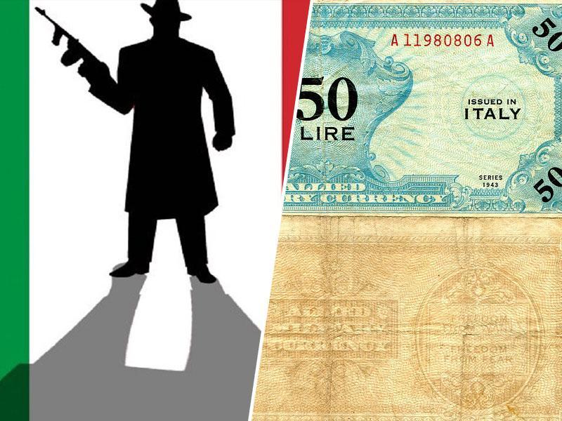 Mafija v Italiji še vedno uporablja staro valuto, politiki pa si želijo - »nove lire«