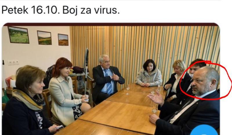 Strahopetno: namesto, da se opraviči, Kovšca cenzuriral fotografije, ki pričajo, kako je kršil navodila NIJZ in vlade