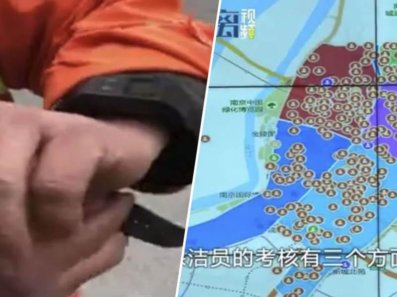 Veliki brat te gleda: komunalni delavci že nosijo zapestnice z GPS lokatorji, ki – govorijo…