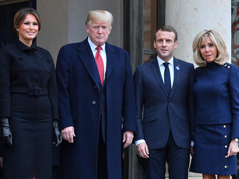 Macron želi evropsko armado tudi za obrambo pred ZDA, Trump mu odgovarja, da je to huda žalitev