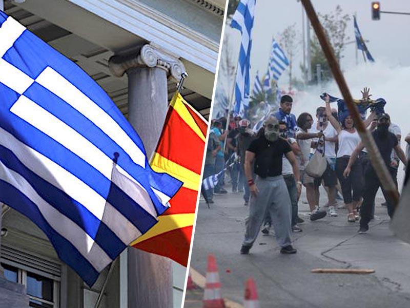 Balkanski sod smodnika: padec vlade in novi zapleti - Grki zahtevajo referendum o dogovoru z Makedonijo