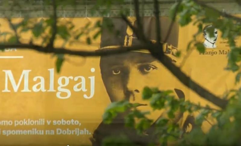 Ob stoti obletnici smrti Franja Malgaja čas za spominena vojno tovarištvo Slovencev in Srbov