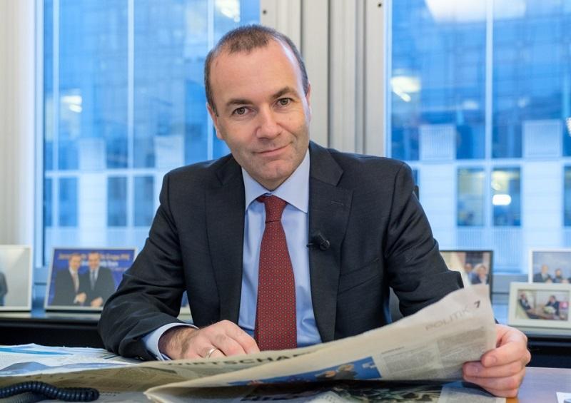 Janša, Peterle in Bogovič o podpori Webru, spitzenkandidatih in Orbanu
