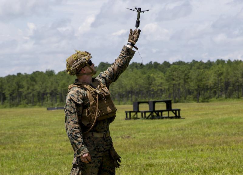 Daljinsko vodena granata: Američani preizkušajo »žepno letalstvo«, ki je »zmeraj pri roki«