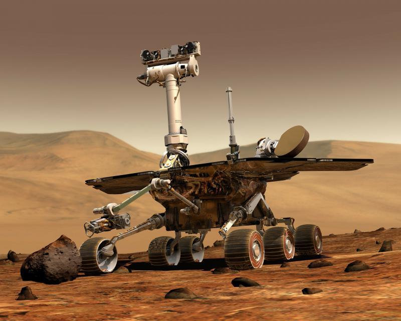 NASA: Vzorci kamnin kažejo, da je na Marsu najbrž obstajalo življenje