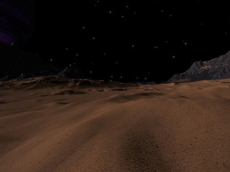 Na Marsu odkrili prvo jezero s tekočo vodo