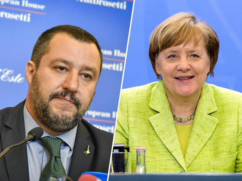 Salvini po volitvah na Bavarskem: Arrivederci Merkel