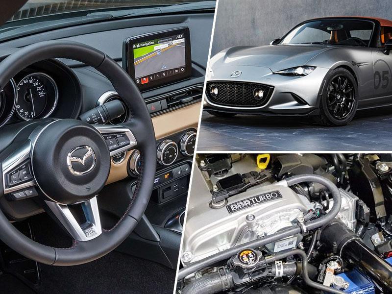 Mazda MX-5: Še več konjev
