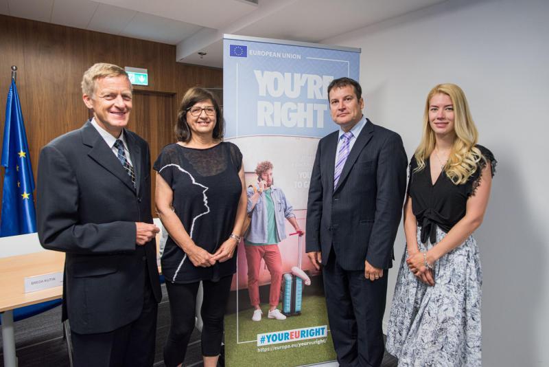 V Sloveniji se je začela evropska kampanja »Imaš prav«, ki potrošnike ozavešča o njihovih pravicah