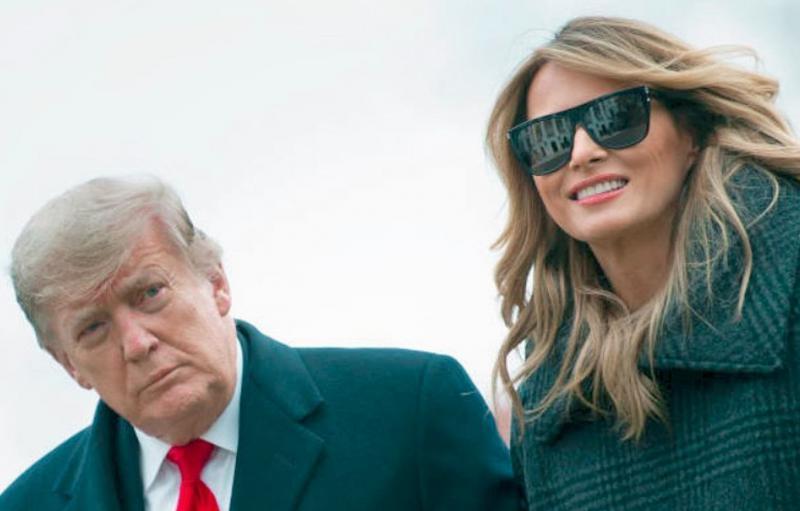 Burna noč v Beli hiši: Trump prepovedal vstop šefu kabineta podpredsednika ZDA, Melaniine pomočnice se razbežale