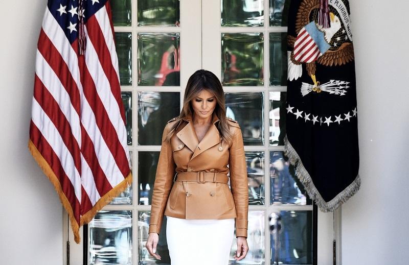 Melania Trump po 20 dneh molka sporoča, da se počuti odlično