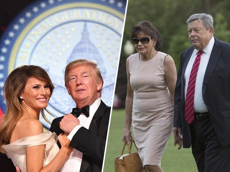 Trump tarča posmeha, nasprotuje »verižni migraciji«, s katero mu je Melania s slovenskimi migranti razširila družino