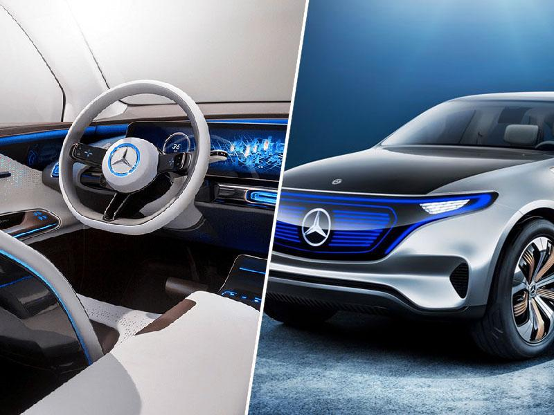 Mercedes-Benz EQC: 2020 je že tu ...