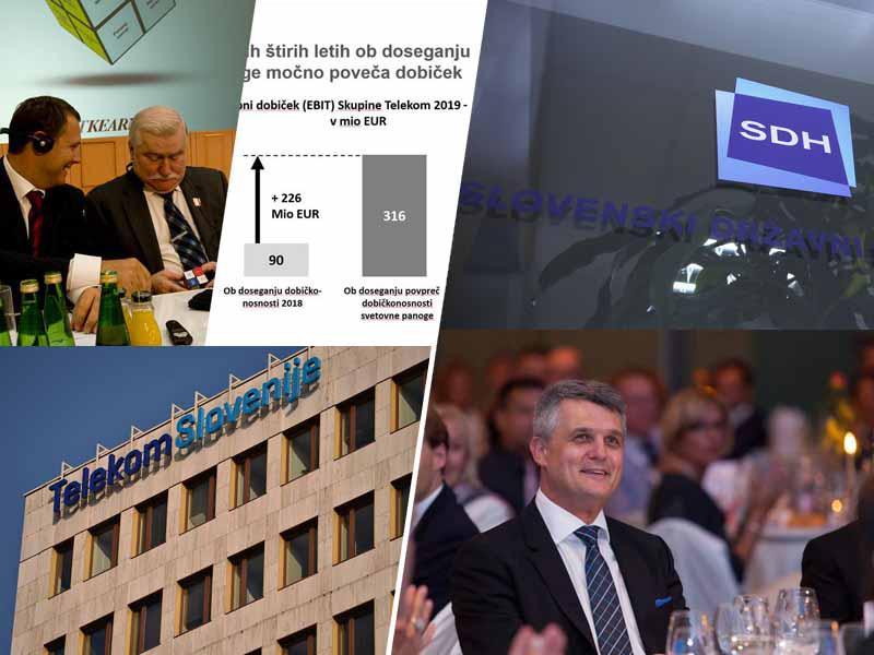Onesposobili sposobne, sedaj pa se čudijo polomu Telekoma: SDS za nujno sejo komisije za nadzor javnih financ