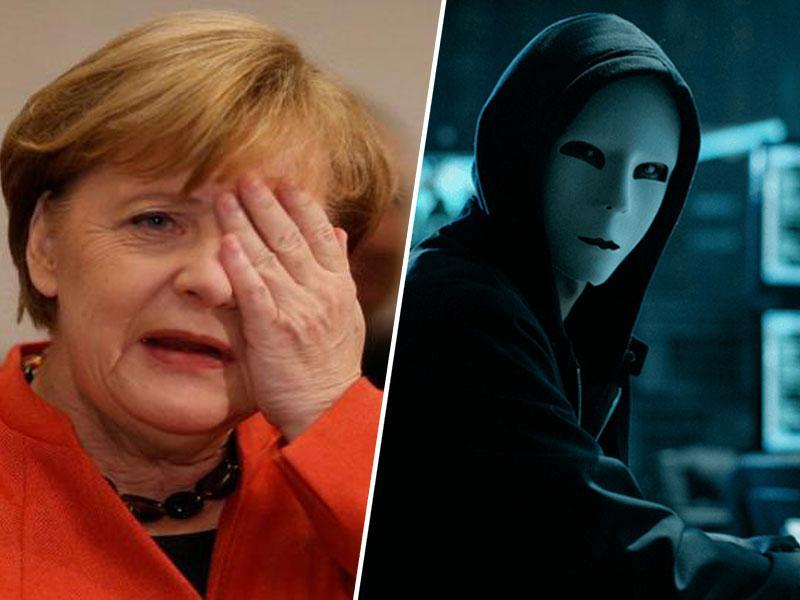 Aretiran osumljenec za največji hekerski napad v zgodovini Nemčije, med žrtvami tudi Angela Merkel
