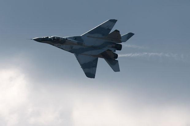Jata ptic »napadla« MiG-29 in ga zrušila z neba