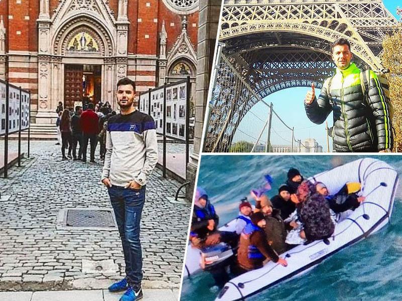 Iranski prosilec za azil razkril svojo pot do Velike Britanije; Slovenijo je prepotoval skrit v tovornjaku