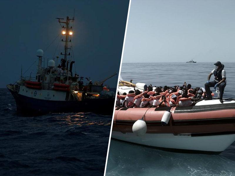 Italija in Malta zavrnili pristanek še ene ladje z migranti