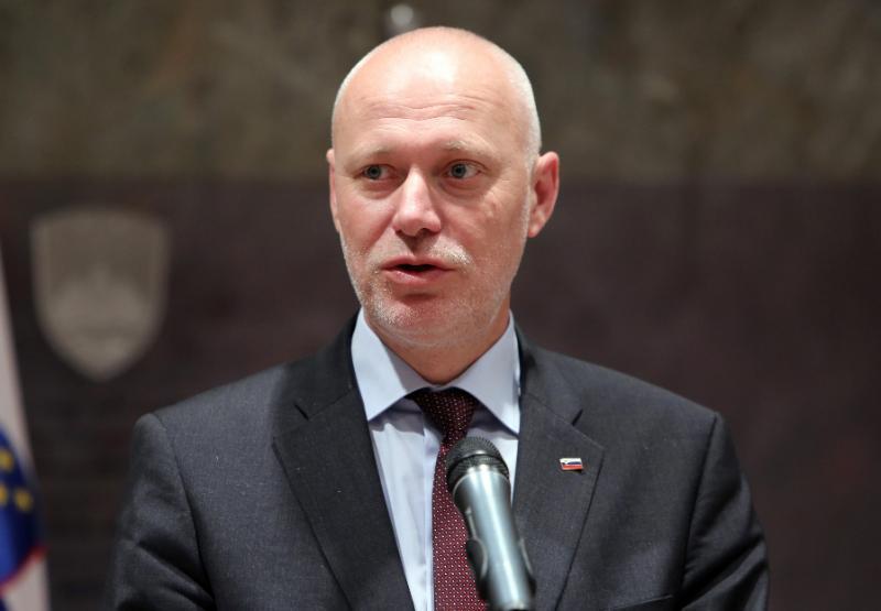 Predsednik državnega zbora Brglez obsodil ponedeljkovo nasilje v Gazi