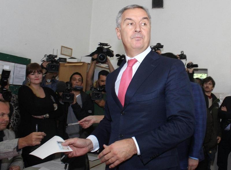 Đukanović razglasil zmago na nedeljskih predsedniških volitvah v Črni Gori
