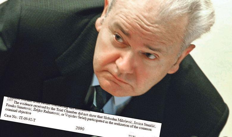 Kako je Haaško sodišče (ICTY) potihoma amnestiralo Slobodana Miloševića