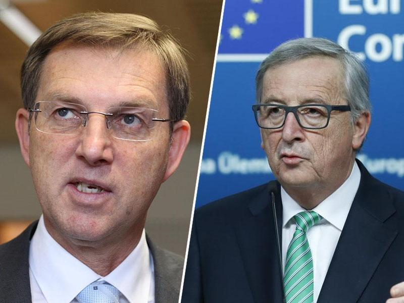 Juncker čestita Šarcu in se zahvaljuje Cerarju