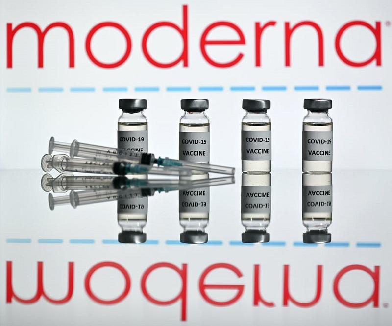 Iz Moderne ena dobra in ena slaba novica: dobra je, da nas bo njeno cepivo ščitilo najmanj leto dni, slaba pa ...