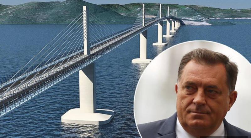 Neenotna Bosna: Hrvat proti vitalnemu interesu Hrvaške, Srb za, v ozadju pa politična trgovina z mostovi