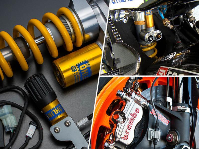 MotoGP vzmetenje: kaj omogoča gumi, da deluje?