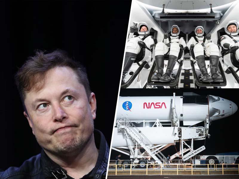 Elon Musk pozitiven na koronavirus: bo Covid-19 z astronavti dosegel še vesolje?