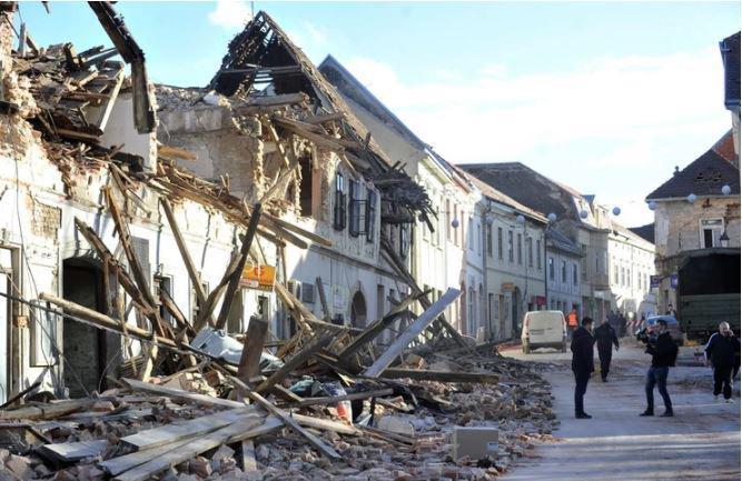 Zločin: zrušile so se hiše prenovljene po vojni! Tožilstvo po uničujočem potresu na Hrvaškem začenja preiskavo