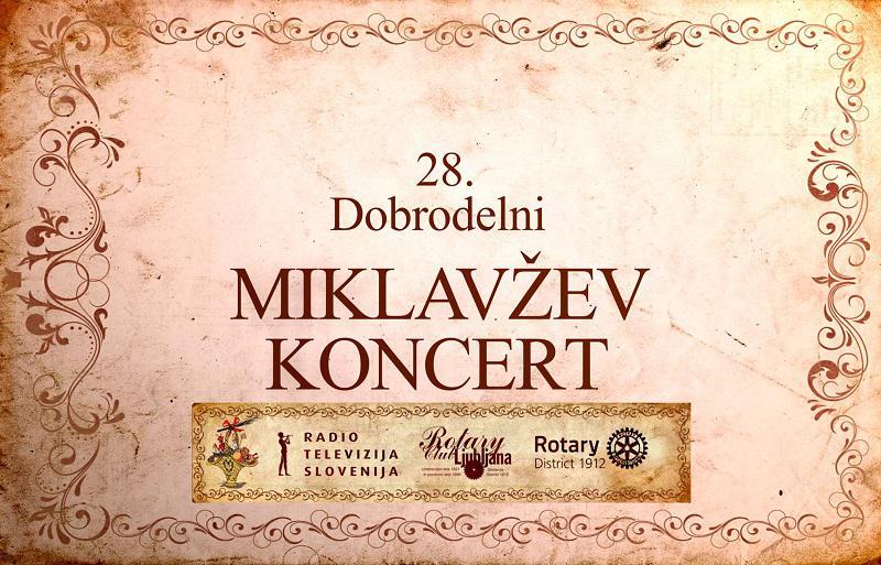 Rotary klub Ljubljana na velikem Miklavževem koncertu z dobrodelno noto tokrat pomaga osnovnim šolam