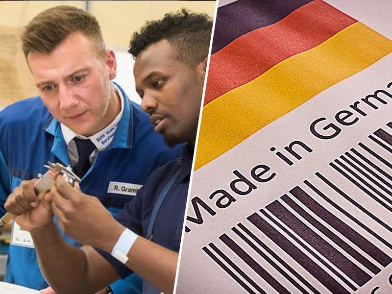 Pomanjkanje migrantov bi uničilo gospodarstvo: Nemčija potrebuje najmanj 260.000 imigrantov letno