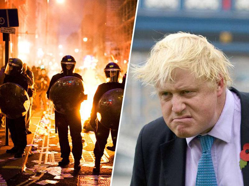 Johnson skriva dokument o posledicah brexita: Britanijo čakajo dvig cen, pomanjkanje hrane in nemiri na ulicah?