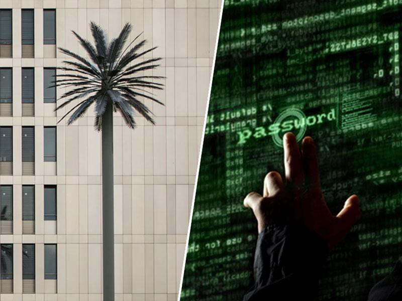 Zakaj so ob odprtju največjega vohunskega središča na svetu, pozornost pritegnile – lažne palme
