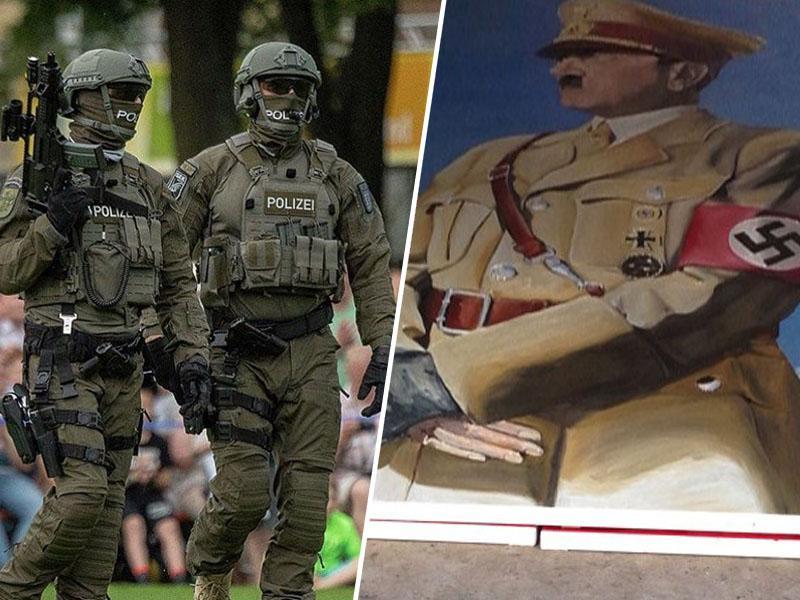 Posebna enota nemške policije ukinjena - zaradi neonacizma