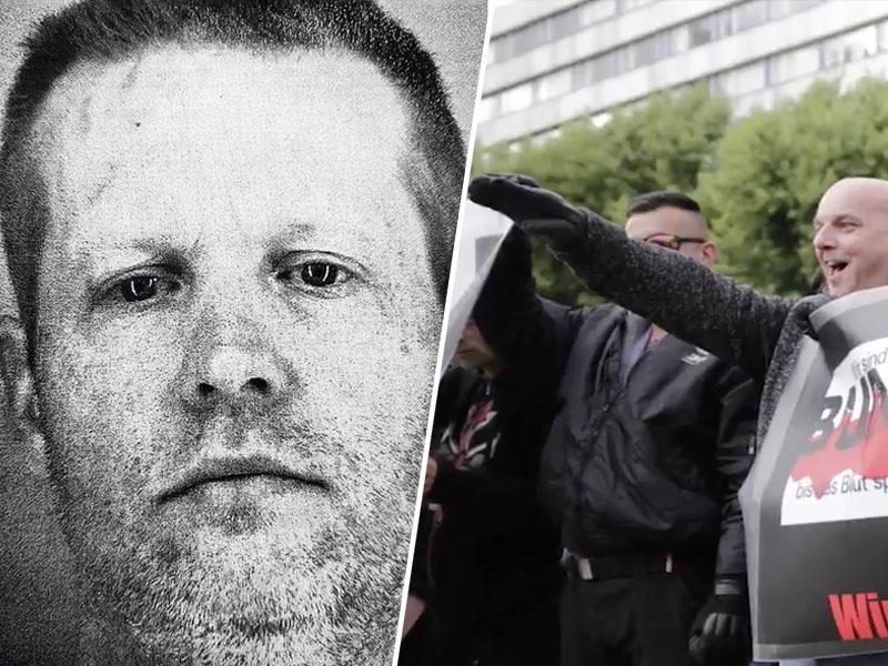 Obraz zla: Nemčija se za las izognila oboroženi vstaji, neonacist priznal atentat na sodelavca Angele Merkel