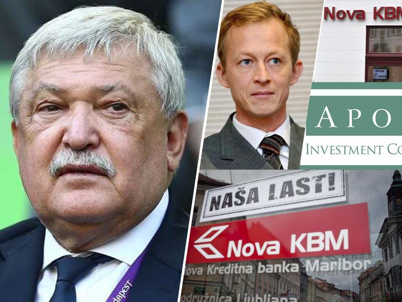 Razkrito: Država in mali vlagatelji ob prodaji NKBM opeharjeni, dobički pa v roke mrhovinarskega sklada Apollo